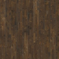 Паркетная доска дуб Грунт 3-х пол.Натур.масло,глубокая браш,темно-корич 2.91кв.м 2423x200x15
