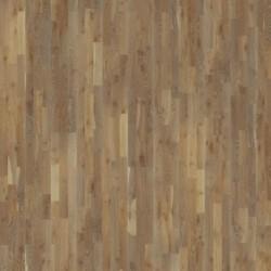 Паркетная доска дуб Камень 3-х пол.Натур.масло,глубокая браш,серо-корич 2.91кв.м 2423x200x15