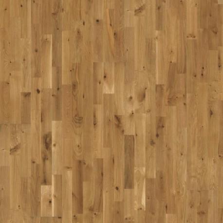 Паркетная доска ДУБ Буда нат.масло, кантри,браш,фаски 3-пол. 2419х196х15 мм
