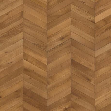 Инженерный паркет Шеврон светло-коричневый, нат.масло, Кантри 2,04 кв.м 1848x305x15 (Левый+Правый)