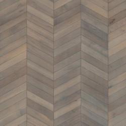Паркет Французская елка Шеврон серый