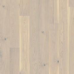Паркетная доска дуб Гармиш 1-х пол., Кантри, натур.масло браш.микр.фаски.белый 2.54кв.м 2266x187x15