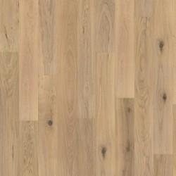 паркетная доска дуб Шепот, Кантри, 1-пол., белый мат. лак, щетка, фаски 2000х187х15