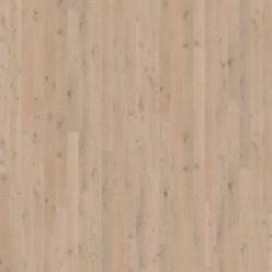 Паркетная доска дуб Сорано 1-х пол., мат.лак белый 2000x187x15