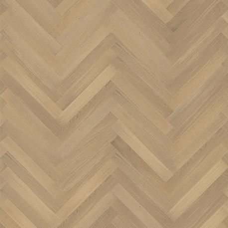 Английская елка AB Oak AB white matt lacquer HB 490х70х11 2,06 / 123,6 м2